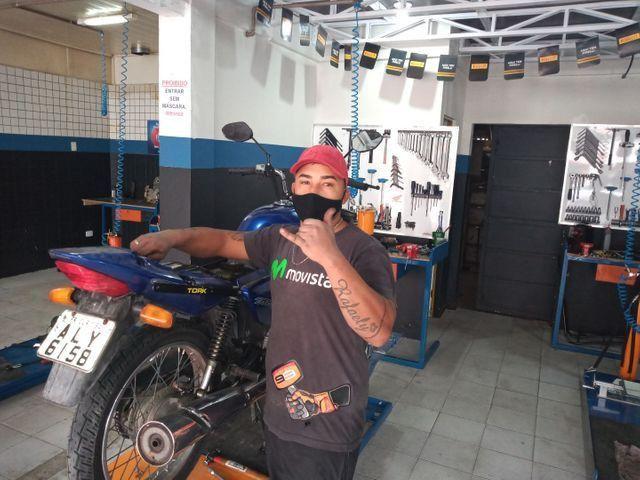 Vaga mecânico de moto com experiência