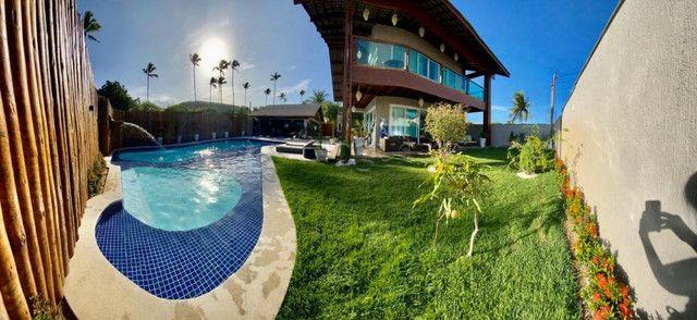 KMRL-Casa dos sonhos em Porto de Galinhas - 10 quartos (c/suítes) - 4 vagas - piscina - Foto 15