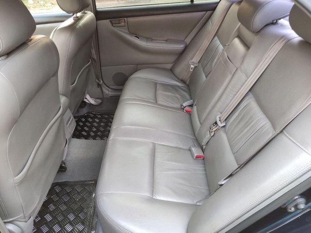 Corolla XEI 2008 azul flex automático completo - Foto 5