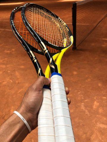 Raquete blz pro tour, muito boa de jogar feita especialmente para del potro,