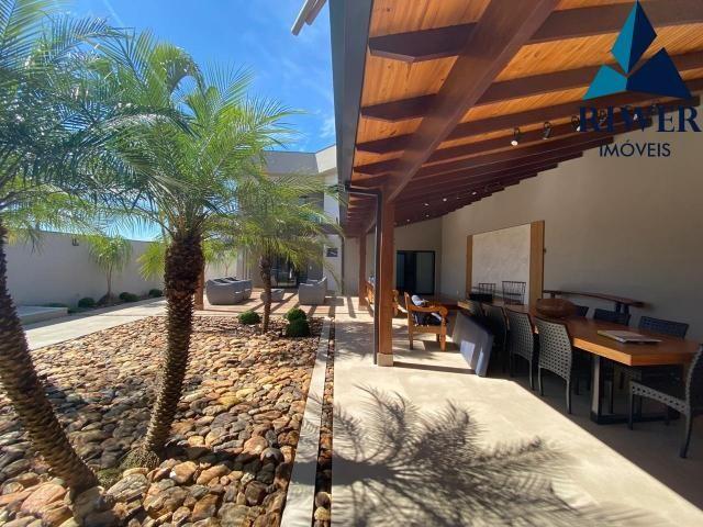 Luxo! Casa perfeita e mobiliada em Vicente Pires! 4 suites, revestimentos e materiais de p - Foto 17