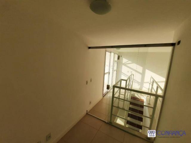 Cobertura com 2 dormitórios para alugar, 147 m² por R$ 2.200,00/mês - Campo Grande - Rio d - Foto 19