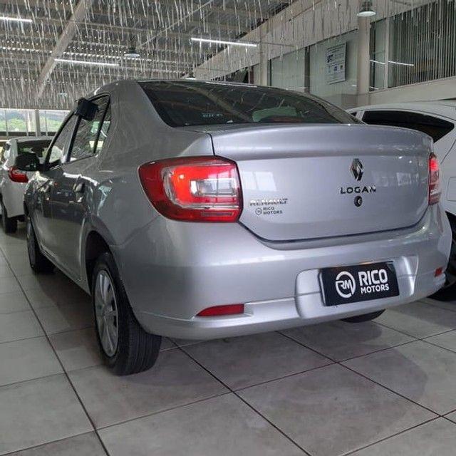 Renault Logan Life 1.0 2020 Flex - Foto 10