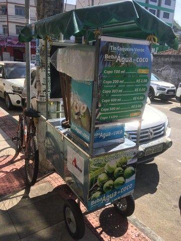Carrinho água de coco (seminovo)  - Foto 6