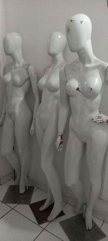 Manequins feminino e masculino  - Foto 2