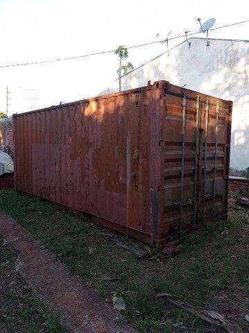 Container de 20 pés (6 metros)
