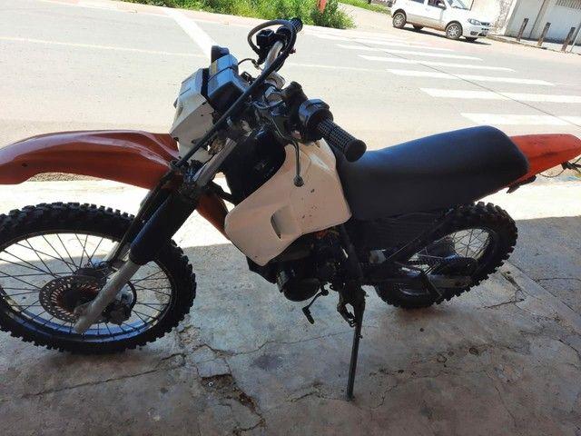 Moto Xr 200  pra interior(Só tem nada conta) - Foto 3