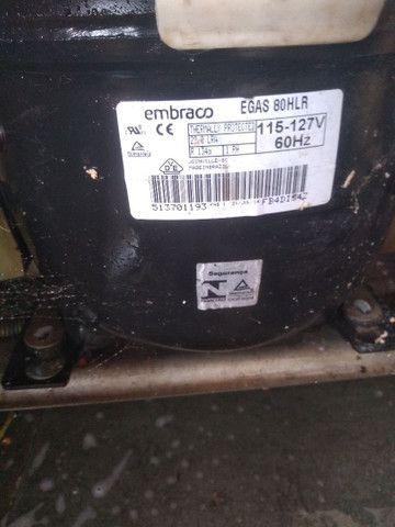 Motor de geladeira embraco 127 v . - Foto 2