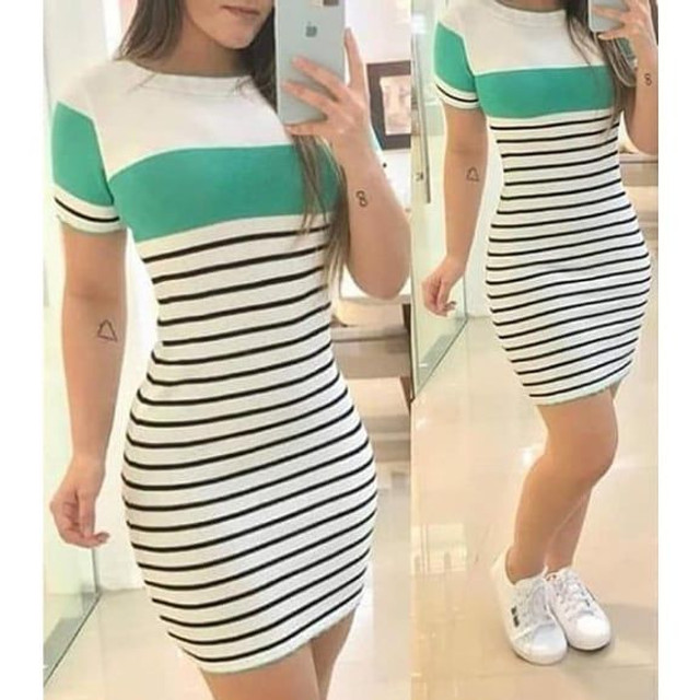 Lindo vestido moda verão