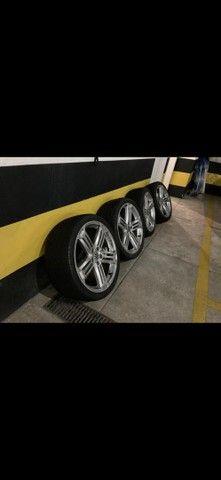 Rodas aro 19 com pneus  - Foto 5