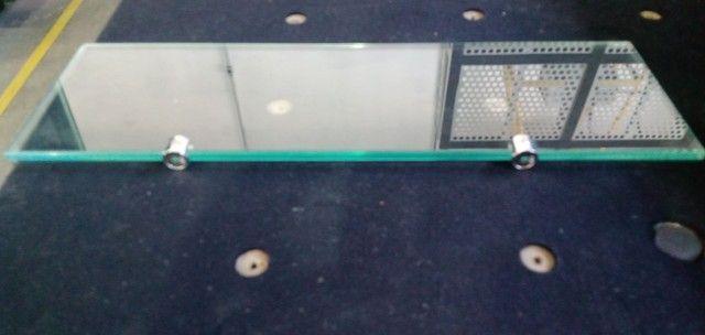 Plateleira de vidro 8mm 500x150