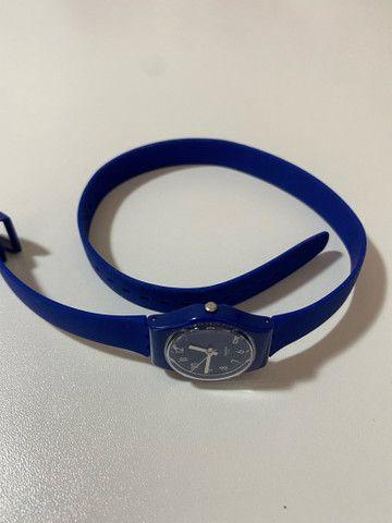 Relógio Suíço Swatch nunca usado duas voltas - Foto 6