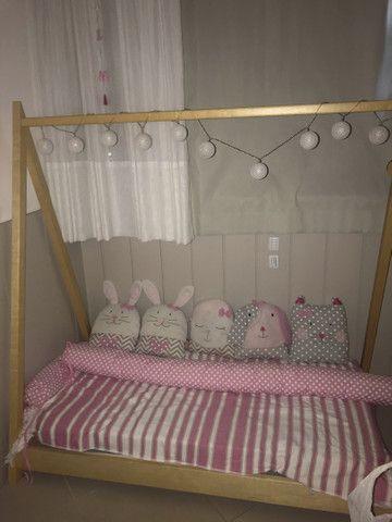 Kit almofadas cama infantil - Foto 2