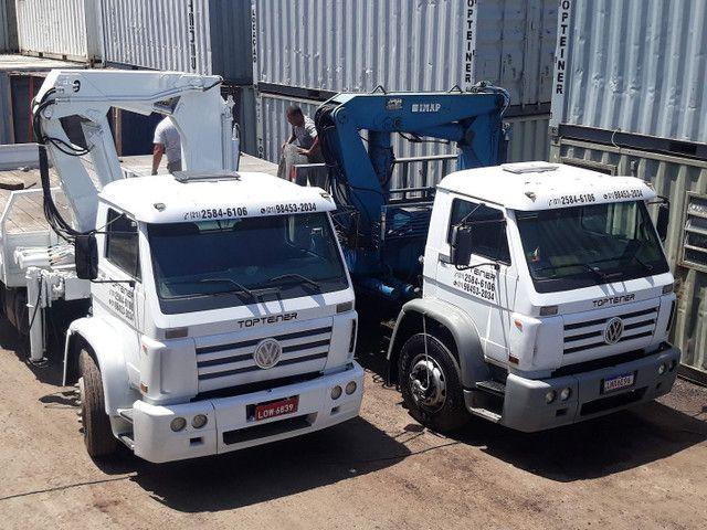Container  transporte içamentos