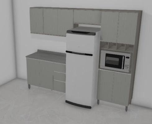 Promoção Cozinha MDF 2.6