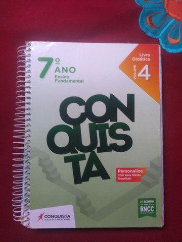 Livros Conquista 7° ano  - Foto 2