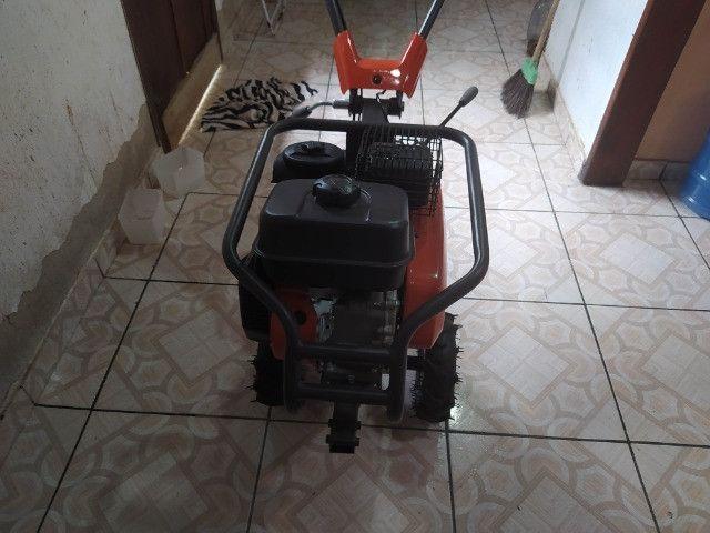 Motocultivador a gasolina 196CC 3,45kw - husqvarana-tf230 - Foto 3