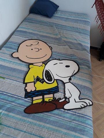 Kit Decoração Festa Turma do Snoopy - Foto 3