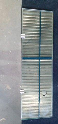 Plateleira de vidro 8mm 500x150 - Foto 2