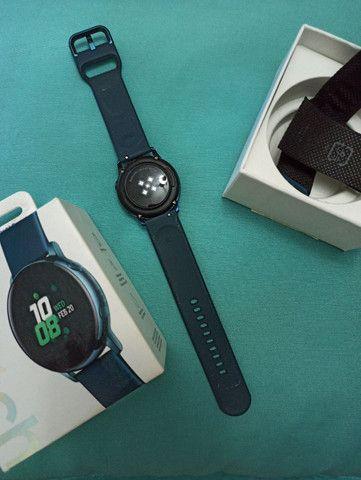 Smartwatch Samsung Active Azul  - Foto 3