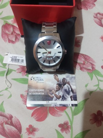 Relógio Technos do Flamengo novo