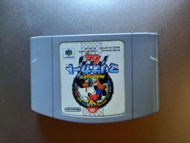 Jogo Mario Kart Nintendo 64 - Foto 2