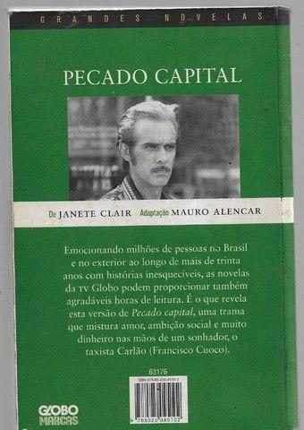 olx0060 livro - pecado capital - grande novelas - Foto 2