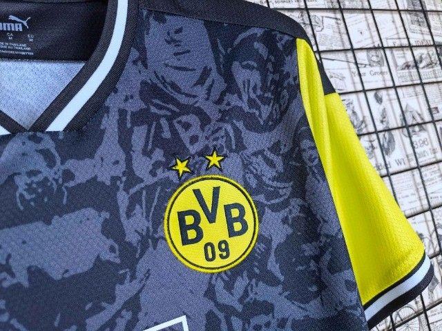 Camisa Dortmund 2021/22 Edição limitada - Foto 3