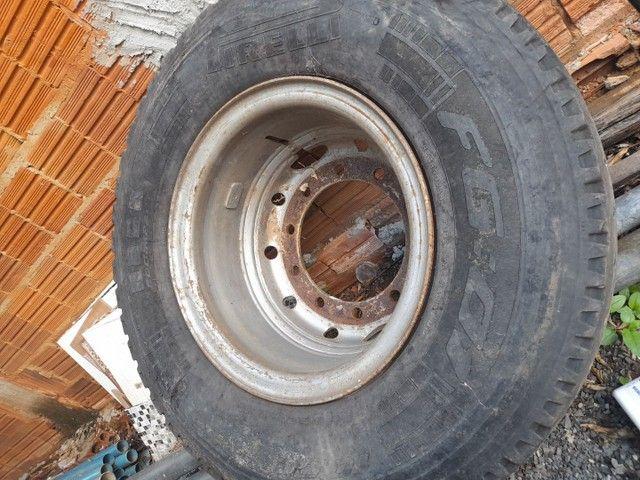 Par de rodas 275, 10 furos (SEM PNEUS) - Foto 2