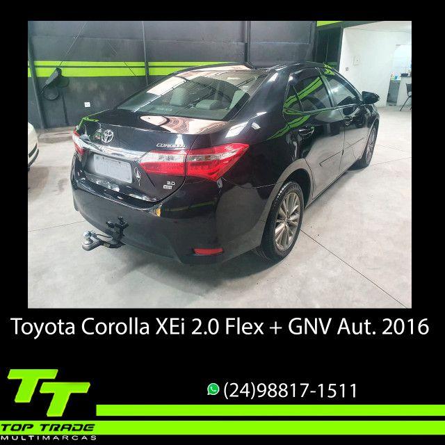 Toyota Corolla XEi 2.0 Flex + GNV Automático 2016 - Foto 3