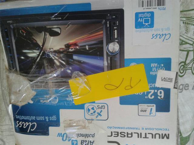 Dvd com TV gps