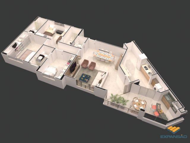 Apartamento à venda com 4 dormitórios em Zona 03, Maringá cod:1110006397 - Foto 5