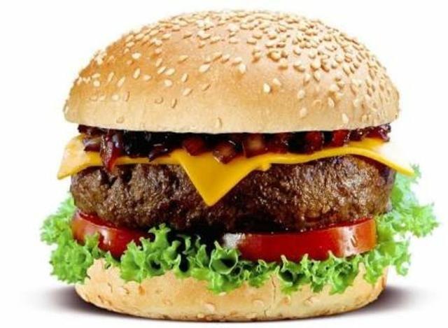 Atendente de hamburgueria