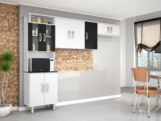 Cozinha Compacta Poliman Suiça 3 Peças