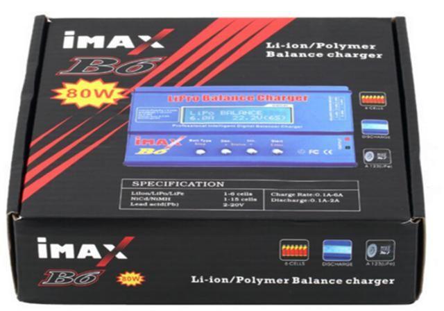 Carregador Balanceador Imax B6 80w - Não Possui Fonte