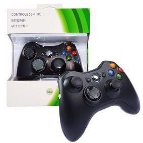 Controle sem fio para Xbox 360 e PC