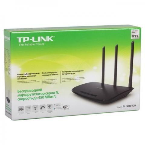Roteador TP-Link 450Mbps 3 Antenas Novo