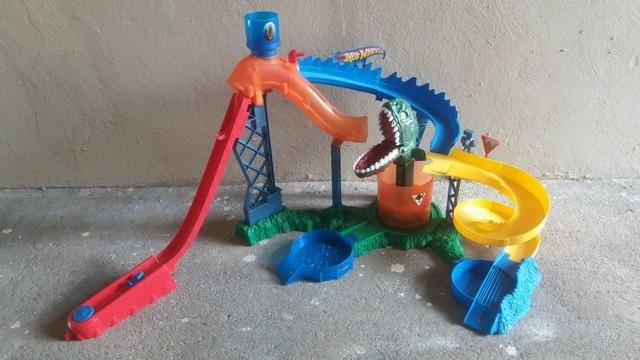 Pista Hot Wheels - Ataque da Piranha - Mattel