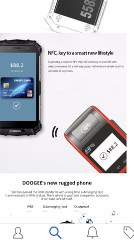 Celular smartphone-doogee S 60 IP 68-a-prova-agua-Frete grátis-iphone-resistência-tech-