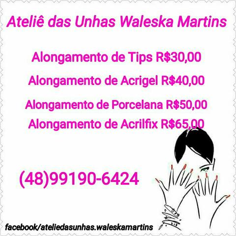 Manicure/ Pedicure/ Alongamentos