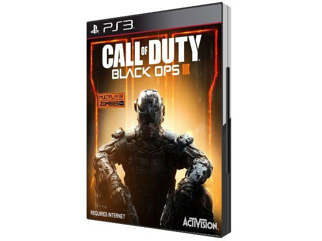 Call of Duty : Black ops 3 P/ Playstation 3 - novo Lacrado – PS3