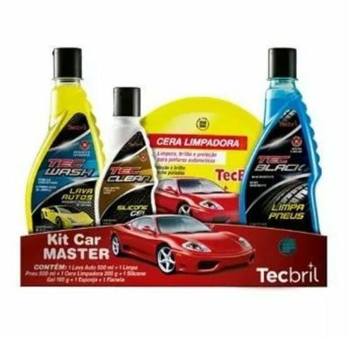 Kit de limpeza automotiva Car Master TecBril