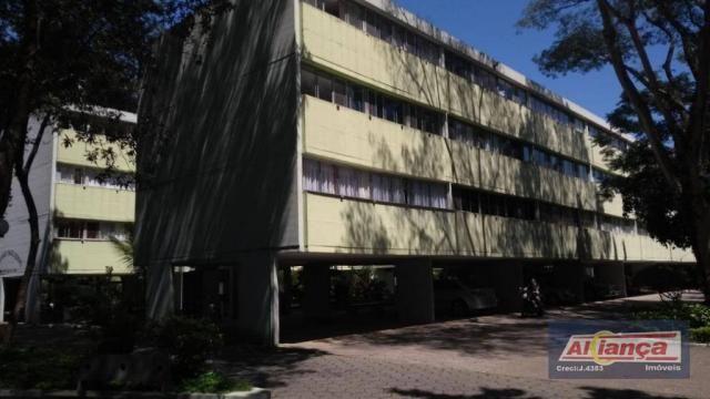 Apartamento residencial para locação, Parque Cecap, Guarulhos.