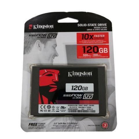 HD de 120GB Kingston com Garantia de 3 Meses Pacote Office Programas e Windows Instalado