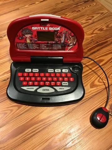 Brinquedo tipo Laptop Infantil da Candide 24 Atividades Excelente Estado