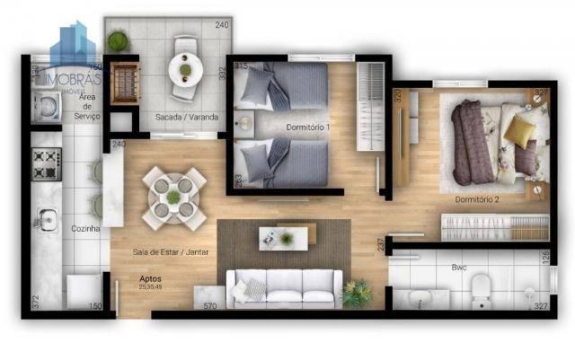 Excelente apartamento em Pinhais - Foto 4
