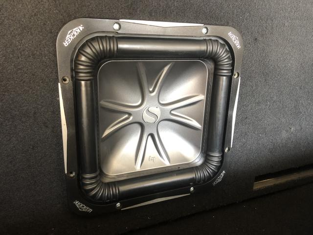 Sub kicker - som automotivo - subwoofer