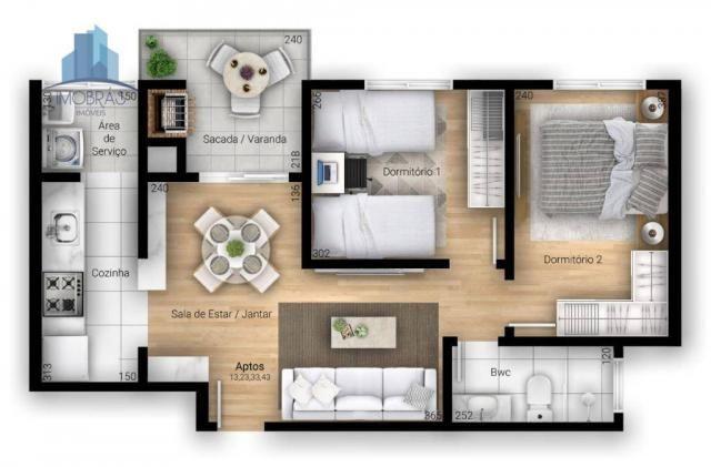 Excelente apartamento em Pinhais - Foto 6