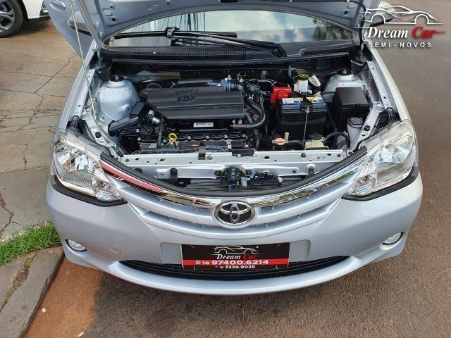 Toyota Etios Sedan 1.5 XLS Flex automático único dono 2017 - Foto 12