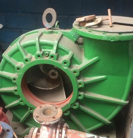 Bomba rotor aberto em inox 14 polegadas